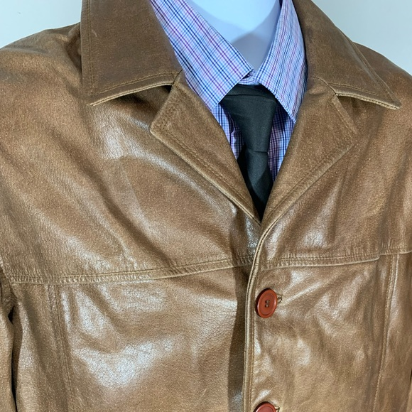 Chico's Other - Original Chico's Mens Pigskin Leather Jacket Sz LG